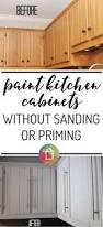 Painting Kitchen Cabinets Before And After by Painting Laminated Cabinets How To Repair And Paint Them