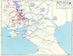 Southwestern United States Map by Map Of German Counteroffensive Into Southwest Russia February