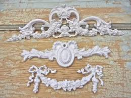 shabby chic floral furniture applique lot by diychicgirl