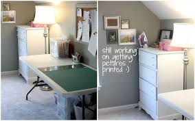 Folding Sewing Cutting Table D And G Stories My Sewing Room Reveal