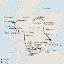 St Andrews State Park Map by Scotland Tours With An Edinburgh U0026 Glasgow Tour U0026 More