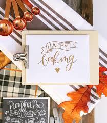l v happy mail idea thanksgiving baking val living