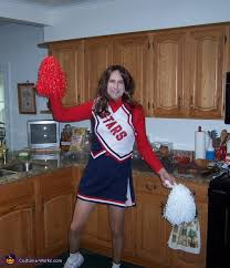 Halloween Cheer Costumes Stars Cheerleader Halloween Costume