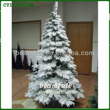 tree with artificial snow buy flocked trees