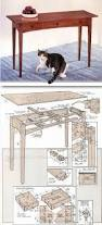 Hall Table Plans 341 Best Buffets And Hall Tables Images On Pinterest Hall Tables