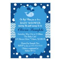 whale baby shower whale baby shower invitations announcements zazzle
