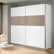 Schlafzimmer Quadra Schwebetürenschrank Quadra Weiß Braunglas 136 Cm Ebay
