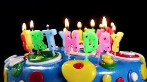 happy birthday candles happy birthday candles on a cake by olegdoroshin videohive