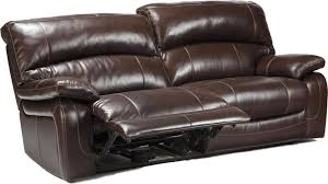 Costco Leather Sofa Review Leather Sofa Reclining Couch With Cup Holders Sanderson Leather