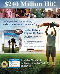 The Blind Aide The Blind Side Scores On Dvd And Blu Ray March 23rd Movieweb
