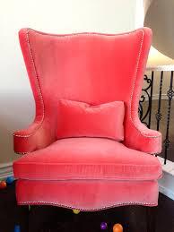 new coral chairs cute home decor pinterest chair simple fuchsia