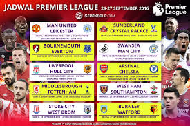 Jadwal Liga Inggris Jadwal Pertandingan Liga Inggris Pekan Ke 6 Big Match Arsenal Vs