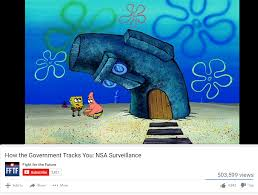don t trust anyone not even squidward s house bikinibottomtwitter