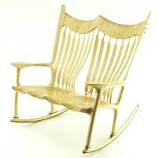 build your own chair course 1 curly maple double rocking chair