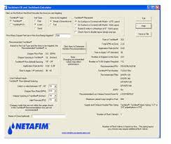 Square Feet Calc Techline Calculator U0026 Techline Calculator App Netafim