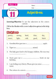 English Grammar Worksheets For Grade 2 51 English Grammar Worksheets Class 2 Instant Downloadable