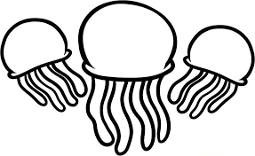 free coloring pages jellyfish jellyfish coloring pages getcoloringpages com