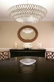 Oly Chandelier Oly Studio Pipa Bowl Chandelier Contemporary Dining Room