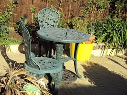 Metal Garden Chair Furniture Lawn Chairs Outdoor Setting Patio Table And Chairs