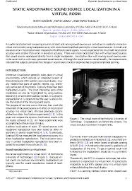 virtual room organizer lesternsumitra com aes e library static and dynamic sound source localization in a virtual room