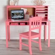 guidecraft media desk u0026 chair set coral hayneedle