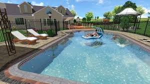 Backyard With Pool Landscaping Ideas by Swimming Pool Design Ideas Hgtv With Image Of Minimalist Swimming