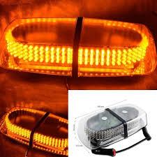 magnetic base strobe light zone tech emergency hazard warning 240 led strobe light with