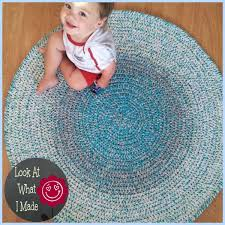 Rounds Rugs Crochet Rug Look At What I Made