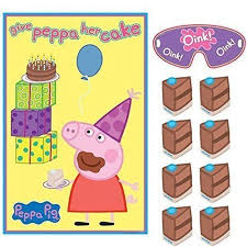peppa pig party supplies peppa pig party supplies give peppa cake pin