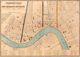 New Orleans Street Car Map by Sighting The Sites Of The New Orleans Slave Trade Wwno