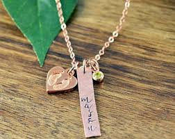 baby name necklace gold baby name necklace etsy