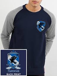 buy harry potter house ravenclaw baseball sweatshirt at loudshop