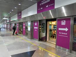 klia erl station malaysia airport klia2 info