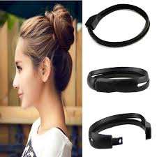 donut bun hair styling hair diy tool donut bun clip twist maker holder hair