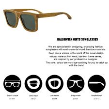 Halloween Gifts For Men Buy Halloween Gifts Bamboo Sunglasses Women Carter Glasses Men