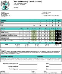 report card template template best agenda templates