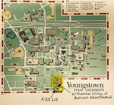 Cleveland State University Campus Map by Ysu Theta Chi Alumni Epsilon Delta
