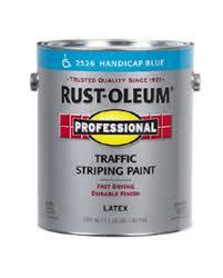 rust oleum professional handicap blue traffic striping paint 1