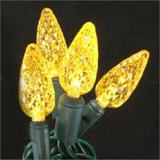 yellow led string lights bulbs led lighting