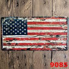 Buy American Flag Online Dekor Garage Vintage
