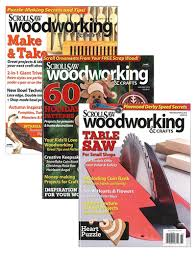 Canadian Woodworking Magazine Pdf by Scroll Saw Woodworking U0026 Crafts Magazines The Gmc Group