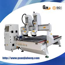 Cnc Vacuum Table by China 1325 Dual Spindle Vacuum Table Woodworking Cnc Router