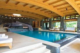 homes built into hillside an extravagant vermont vacation house pool apartment therapy