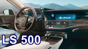 lexus key head 2018 lexus ls 500 interior youtube