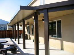 Patio Cover Lights Decorating Cool Alumawood Patio Covers In Beige Matched With