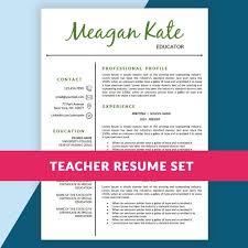 Sample Teacher Resume Templates by 33 Best Resume Images On Pinterest Teacher Resumes Teacher