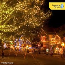 leavenworth wa light festival the christmas lighting festival in leavenworth washington