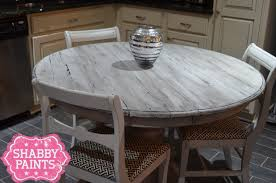 faux plank table shabby paints