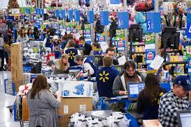 wal mart shifts on black friday wsj