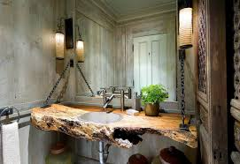 Rustic Bathroom Decorating Ideas Rustic Bathroom Decor Delightful Home Gallery Wall Ideas Half Bath